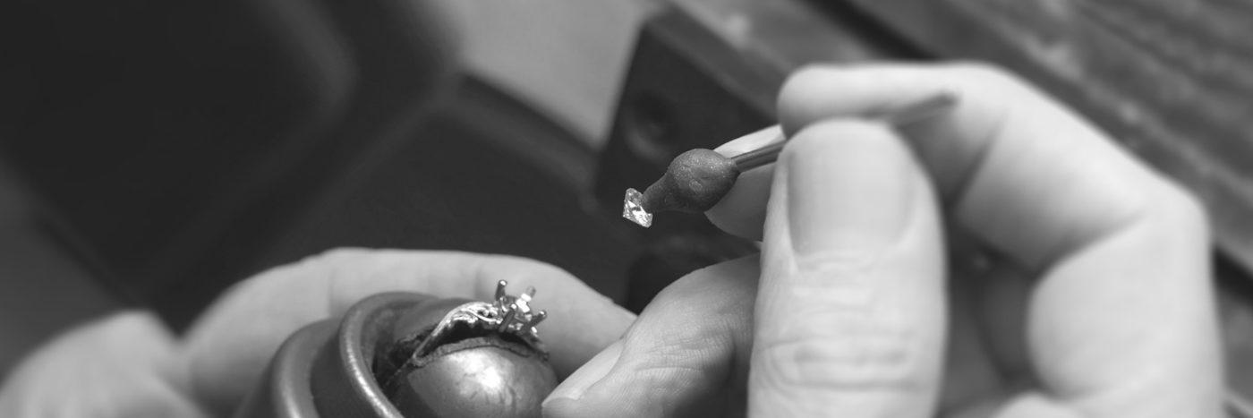 Diamond Setting Custom Jewelry